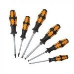 0050/215100 Screwdriver hammer set of 6