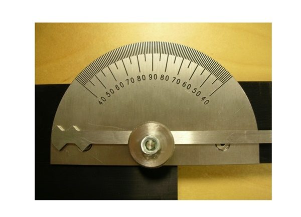 Switchblade Angle Gauge with Taper Gauge - Lawton Tools (Rail