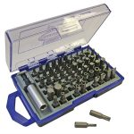 0111/109016 Screwdriver bit set 61 piece