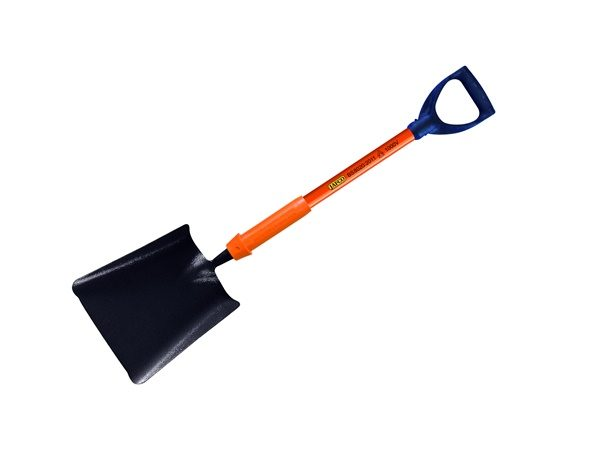 0039/054901 Ballast shovel, square mouth No.2 with metal YD grip