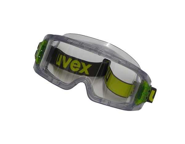 0044/159393 Clear Uvex goggles