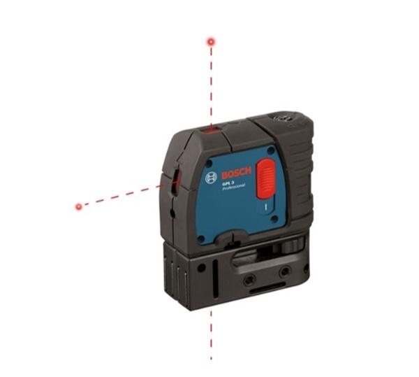 0111/108605 Bosch GPL3 three point laser level
