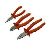 URLT/004712 Plier set of 3 - 150mm long nose plier, 150mm side cutter and 200mm combination plier