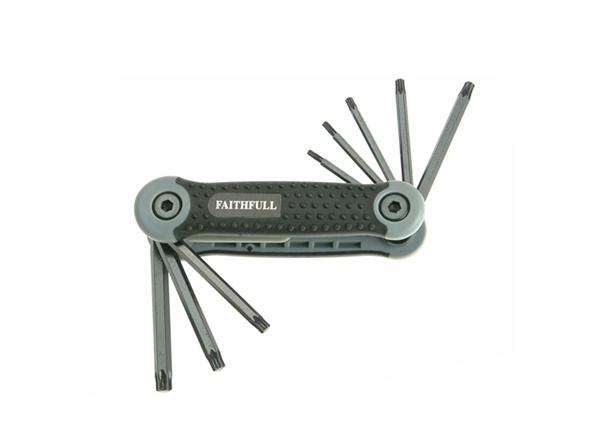URLT/017661 Torx® key 8 piece