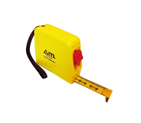 URLT/018332 Non-conductive locking tape measure 3 metre