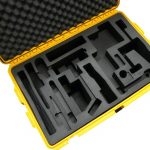 0039/127068 Peli storm case (yellow) – model IM2950 with foam insert