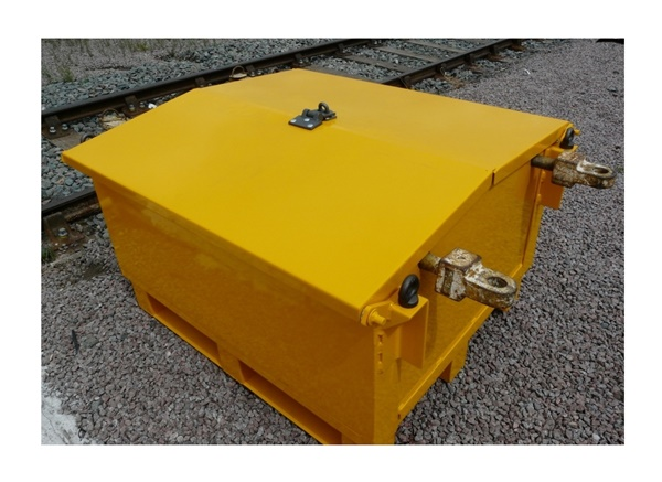 0111-105573 Storage box for Permaquip stressing kit
